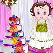 Baby Fun Wedding Cake