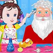 Baby Lisi Santa Claus