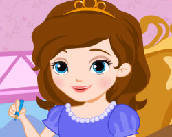 Princess Sofia Class Slacking (91 times)