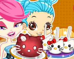 Color Girls Hello Kitty Desserts (0 times)