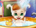 Baby Bedtime Bath