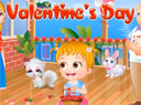 Baby Hazel Valentines Game