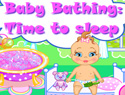 Baby Bathing Game: Time to Sleep
