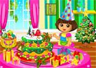Dora Christmas Cake (378 times)