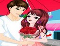 Romantic Rainy Valentine Game