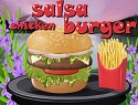 Salsa Chicken Burger