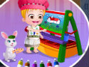 Baby Hazel Learns Colors (1209 times)