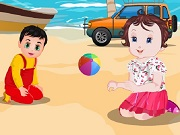Baby Lisi Beach Party Game