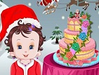 Baby Lisi Christmas Cake Game