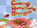 Cooking Homemade Beef Dish