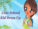 Cute School Kid