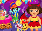 Dora Halloween Prepare