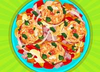 Fried Veg Chicken Salad (87 times)
