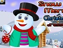 Snow Man Merry Christmas